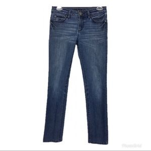 DL1961 Angel Mid Rise Skinny Ankle Jeans- 25